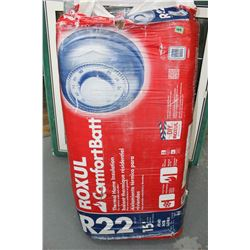 "Bag of Insulation - R22 - 16"" (For 2 x 6 Wall)"