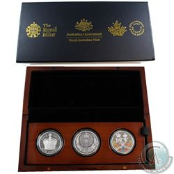 2015 United Kingdom Longest Reigning Monarch Silver Collection. Set contains the United Kingdom 5-Po