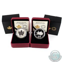 2016 & 2017 Canada $5 ANA Privy Fine Silver Coin set (Tax Exempt). You will receive the 2016 ANA Pop