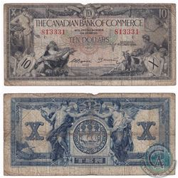 1935 $10 Canadian Imperial Bank of Commerce Note G-VG
