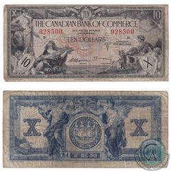 1935 $10 Canadian Imperial Bank of Commerce, Logan-Arscott Note VG-F