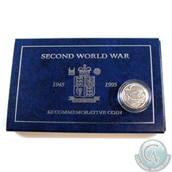 1945-1995 UK 2-Pound Commemorative Coin produced by The Royal Mint.