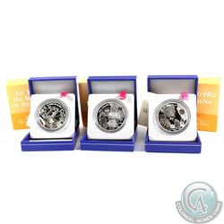 2005-2006 France 1.5 Euro - Jules Verne Silver Proof Coin Collection. You will receive 2005 From the