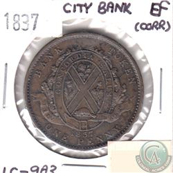 1837 LC-9A3 Token Extra Fine (Corrosion)
