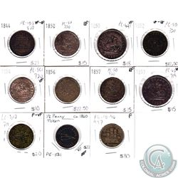 Bank tokens 1815 to 1857. All coins attributed. Recommend looking at lot. 15pcs