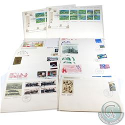Stamps; First Day Cover Year 1985 Estate Lot. 35 Pieces. Virtually all different.