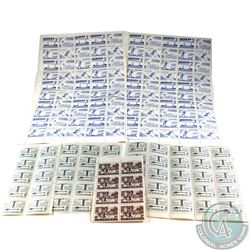 Estate lot of Canada 5-cent & 10-cents Stamps. Lot includes: 145x 5-cent, 10x 10-cents. 155 pcs