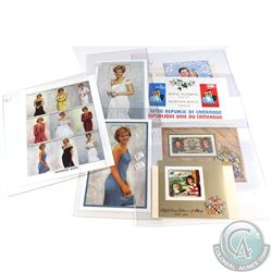 Estate lot of 15x Princess Diana Limited Edition Stamps. 15pcs
