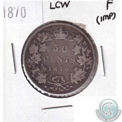 1870 LCW Canada 50-cent Fine (impaired)