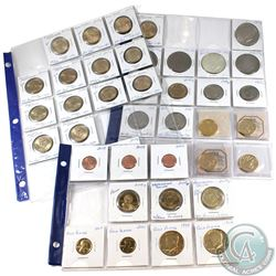 Estate Lot of Mixed USA Eisenhower, Susan B. Anthony, Sacagawea & Presidential Dollars in Plastic Pa