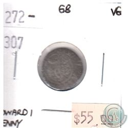 Great Britain 1272-1307 Edward 1 Penny Very Good