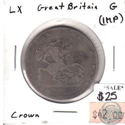 Great Britain LX Crown Good (impaired)