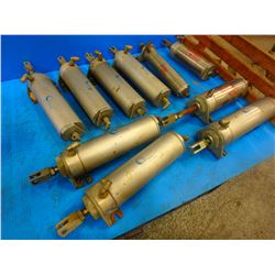 Lot of Bimba Stainless Air Cylinder 174-D