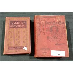 TWO LATE VICTORIAN ERA NOVELS
