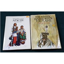 TWO LARGE HARDCOVER BOOKS OF NATIVE AMERICAN HISTORY