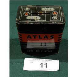 1950'S ATLAS CAR BATTERY BANK