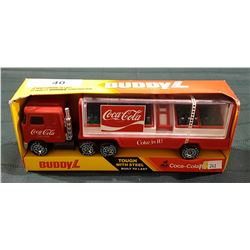 COCA COLA TRUCK & TRAILER-BUDDY L