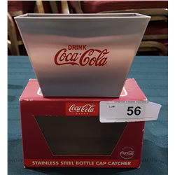 COCA COLA STAINLESS STEEL BOTTLE CAP CATCHER