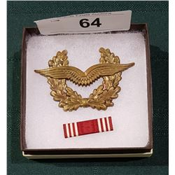POST WAR GERMAN CAP BADGE