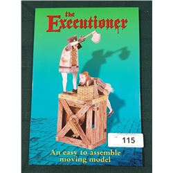 "NEW IN PACKAGE ""THE EXECUTIONER"" MOVING MODEL"