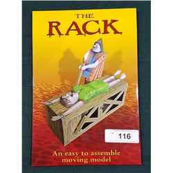 "NEW IN PACKAGE ""THE RACK"" MOVING MODEL"