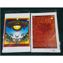 TWO GRATEFUL DEAD POSTERS