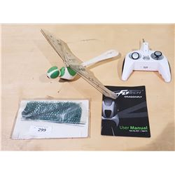 WOWWEE FLYTECH DRAGONFLY WITH CONTROLLER, MANUAL AND EXTRA WINGS