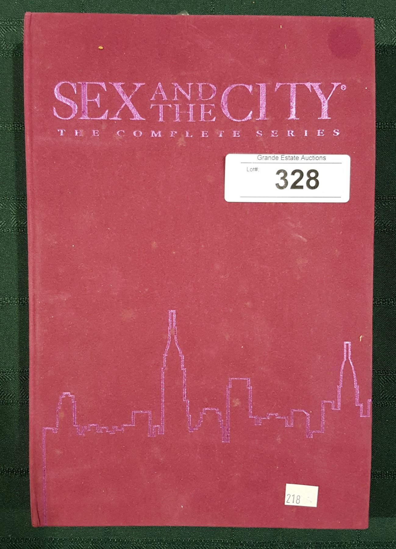 Sex and the city series dvd set