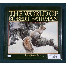 THE WORLD OF ROBERT BATEMAN HARD COVER BOOK
