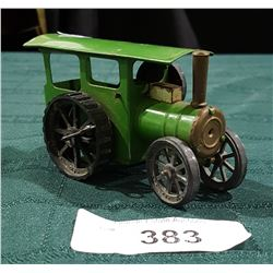 VINTAGE TRI-ANG TIN WIND UP STEAM VEHICLE