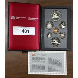 1986 ROYAL CANADIAN MINT COIN PROOF SET