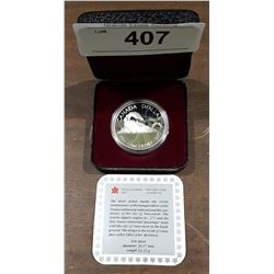 1986 ROYAL CANADIAN MINT COMMEMORATIVE SILVER DOLLAR