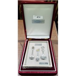 1988 SEOUL OLYMPICS PEWTER SPOON SET