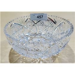 BRILLIANT CUT CRYSTAL BOWL