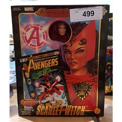 "NEW IN BOX MARVEL FAMOUS COVER SERIES SCARLETT WITCH 8"" ACTION FIGURE"
