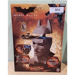 NEW IN BOX BATMAN BEGINS PICTURE SCULPTURE PUZZLE