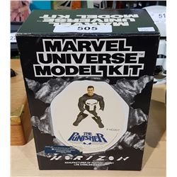 NEW IN BOX MARVEL UNIVERSE THE PUNISHER MODEL KIT