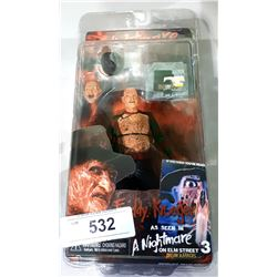 NEW IN BOX NIGHTMARE ON ELM STREET FREDDIE KREUGER ACTION FIGURE