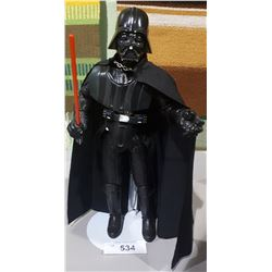 "STAR WARS DARTH VADER 14"" ACTION FIGURE ON STAND"
