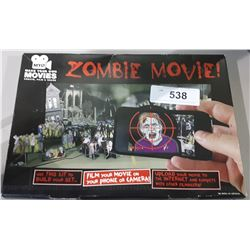 NEW IN BOX MAKE YOUR OWN MOVIES ZOMBIE MOVIE KIT