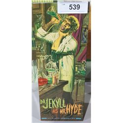 NEW IN BOX DR. JEKYLL AS MR.HYDE MODEL KIT