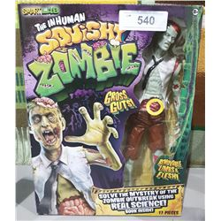 NEW IN BOX SMART LAB THE INHUMANE SQUISHY ZOMBIE