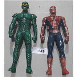 SPIDERMAN AND GREEN GOBLIN WALKIE TALKIE SET