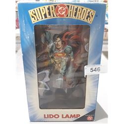NEW IN BOX DC SUPERHEROES LIDO LAMP