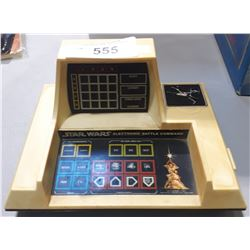 VINTAGE 1977 STAR WARS ELECTRONIC BATTLE COMMAND