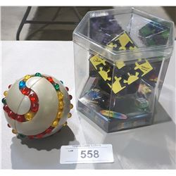 2 RUBIKS PUZZLES