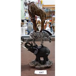 AFRICAN ANIMAL STATUE