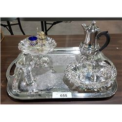COLLECTION OF QUALITY SILVER PLATE