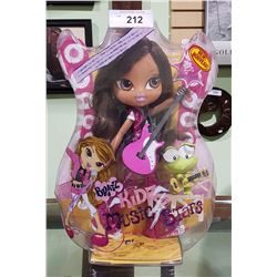 "NIB BRATZ KIDZ MUSIC STARS ""YASMIN"" FASHION DOLL"