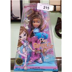 "NIB BRATZ PLAY SPORTZ ""YASMIN"" FASHION DOLL"